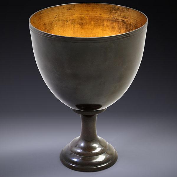 Japanese Bronze Ritual Cup