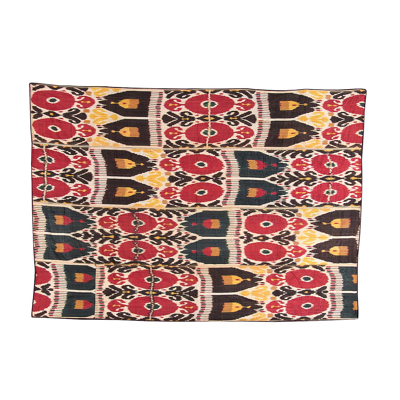 Uzbekistan Silk – Bukhara IKAT (1)