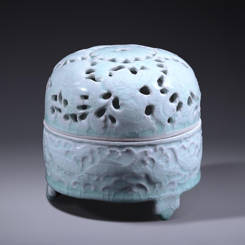 A Qingbai-Glazed Incense Burner