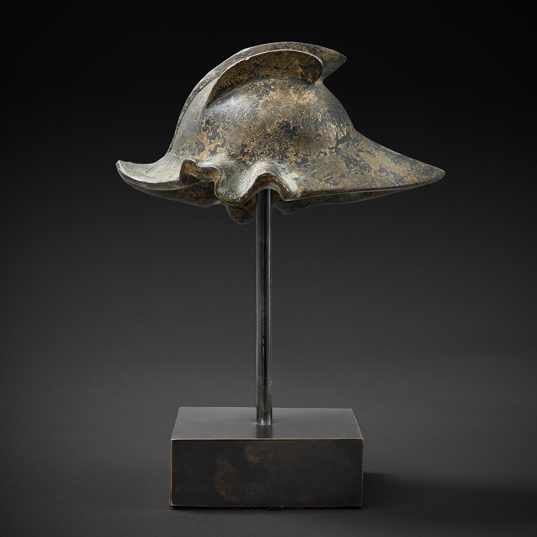 A Bronze Renaissance Helmet