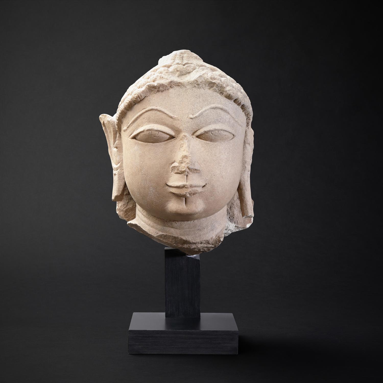 The Head of Buddha Shakyamuni